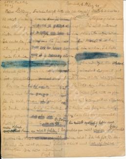Brief Lévy - 1 maart 1941 - NGFB 1038