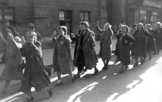 Joodse vrouwen Budapest