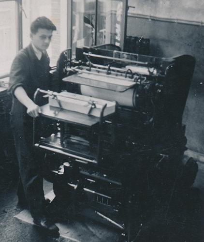 Jules bij Lindenbaum 1940 klein